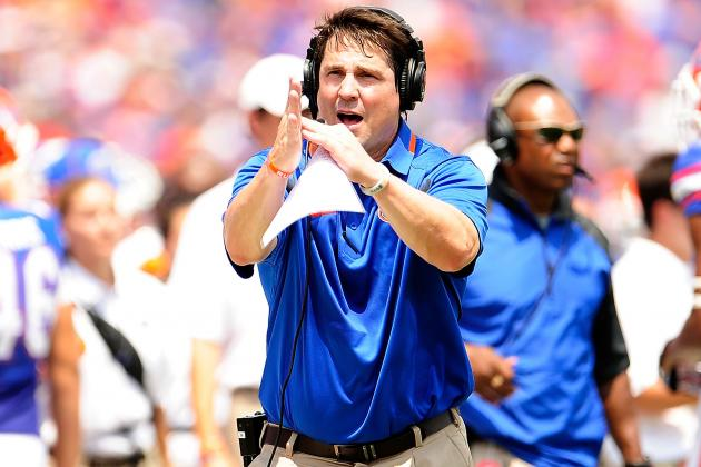 Florida Head Coach Will Muschamp's Hot Seat Could Get Scorching Down the Stretch