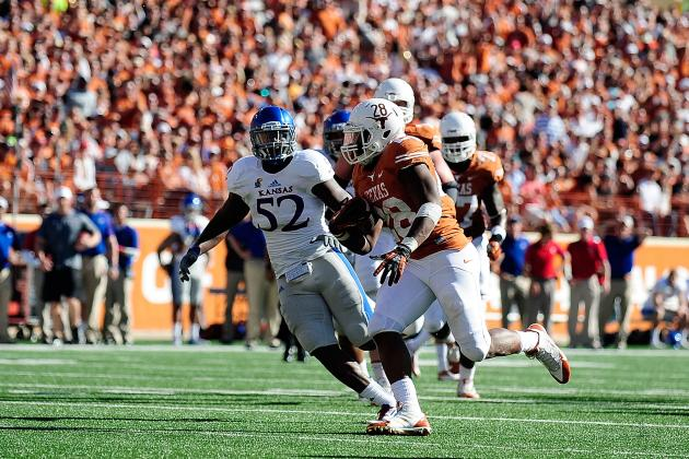 Texas' Offense Took a Nap Against Kansas, Running Back Malcolm Brown Woke It Up