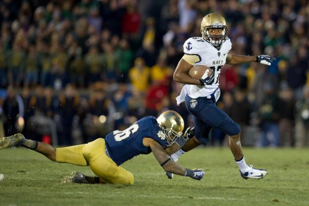 Scare vs. Navy Proves Notre Dame Doesn't Deserve to Climb BCS Standings