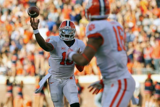 Clemson vs. Virginia: Boyd Revives Tigers Offense, but Where Was This Weeks Ago?
