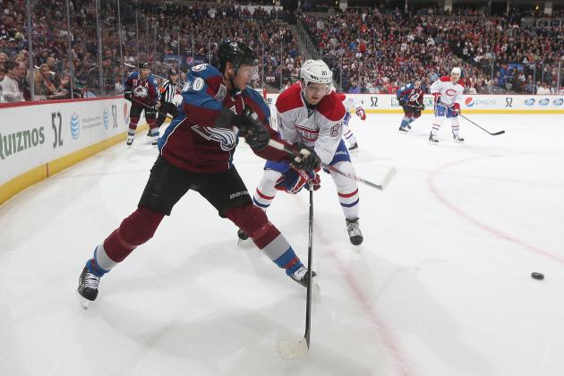 Tanguay (knee) Won't Return vs. Canadiens