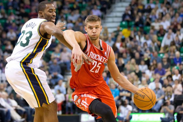 Parsons, Harden Lead Rockets over Jazz 104-93