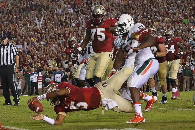BCS Rankings Predictions 2013: How Miami's Loss Will Shake Up Standings