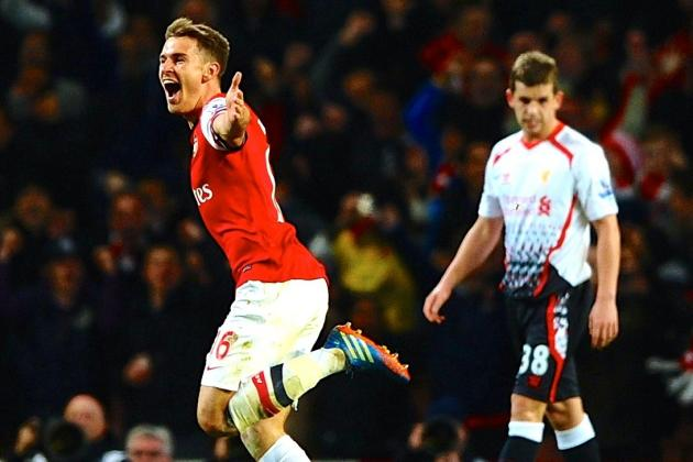 Aaron Ramsey and Santi Cazorla Proved Arsenal's Title Credentials vs. Liverpool
