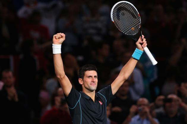 Novak Djokovic vs. David Ferrer: Winner and Score from 2013 Paris Masters Final