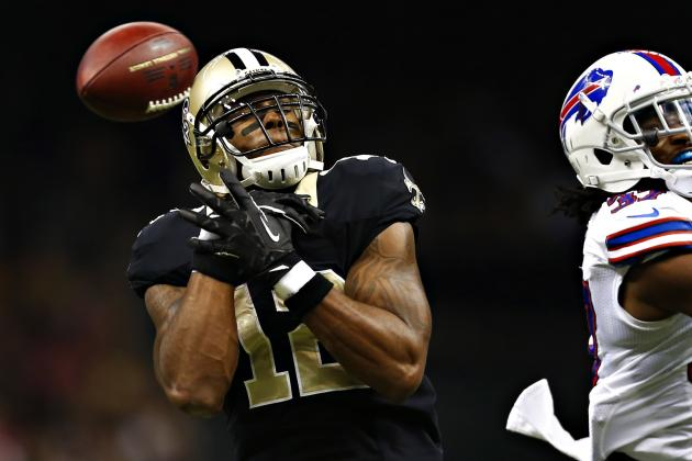 Marques Colston Injury: Updates on Saints WR's Status, Likely Return Date