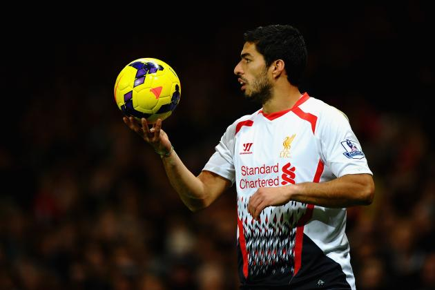 Liverpool's Luis Suarez Rubbishes Real Madrid January Transfer Link