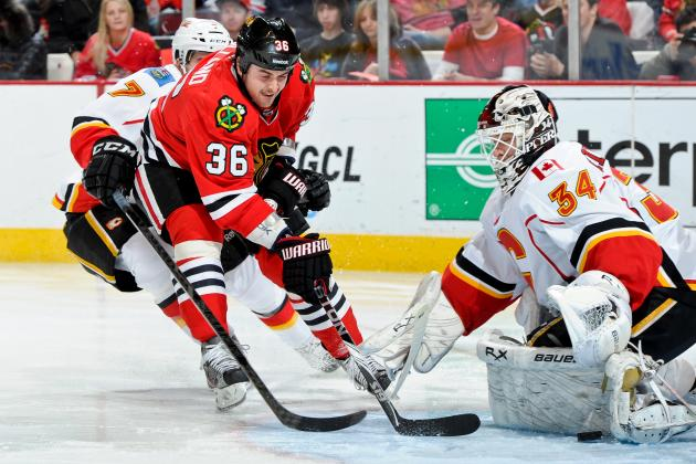 Chicago Blackhawks Face an Unfamiliar Goalie vs. Calgary Flames Sunday, but Who?