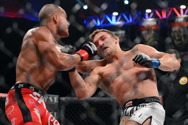 Eddie Alvarez vs. Michael Chandler II: Breaking Down the Compustrike Numbers