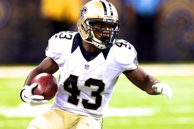 Darren Sproles Injury: Updates on Saints RB's Ankle and Head, Likely Return