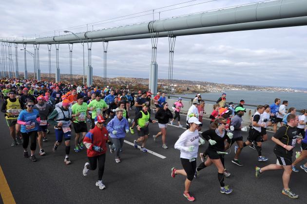 New York City Marathon 2013: Top Celebrities at NYC Event