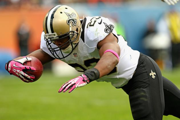Pierre Thomas' Instant Fantasy Value After Darren Sproles' Injury