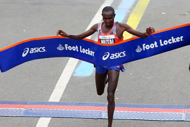 New York Marathon Results 2013: Geoffrey Mutai and Top Runners