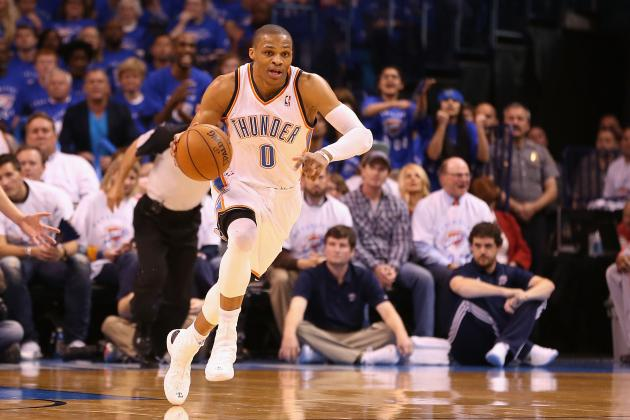 Timeline of Russell Westbrook's Journey from Knee Injury to NBA Return
