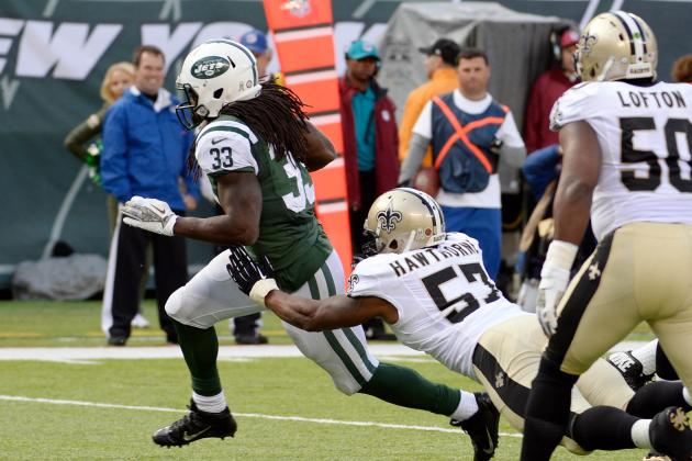 New Orleans Saints vs. New York Jets: Live Game Grades and Analysis for New York