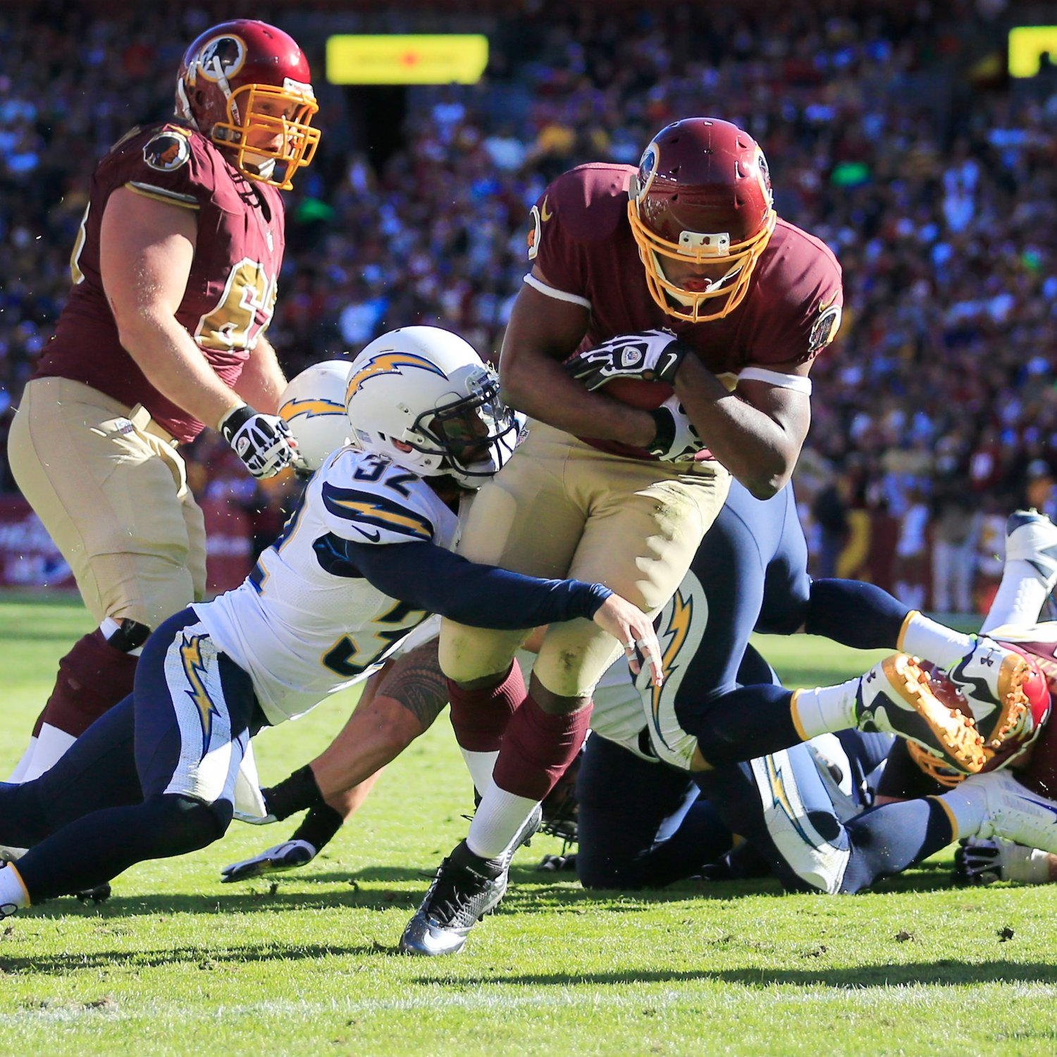 San Diego Chargers Final Score: Redskins Vs. Chargers: Final Grades And Analysis For