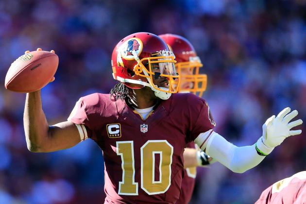 Robert Griffin III's Updated Fantasy Value After Week 9