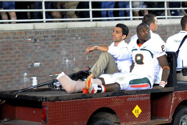 Miami Football: What Duke Johnson's Injury Means for Canes' ACC Title Game Hopes