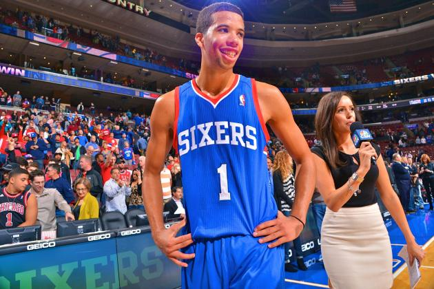 Is Michael Carter-Williams Emerging as Favorite for NBA Rookie of the Year?