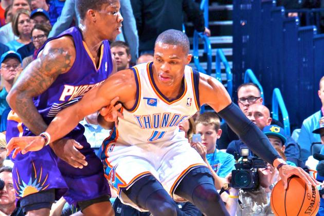 Phoenix Suns at Oklahoma City Thunder: Live Score, Highlights and Analysis