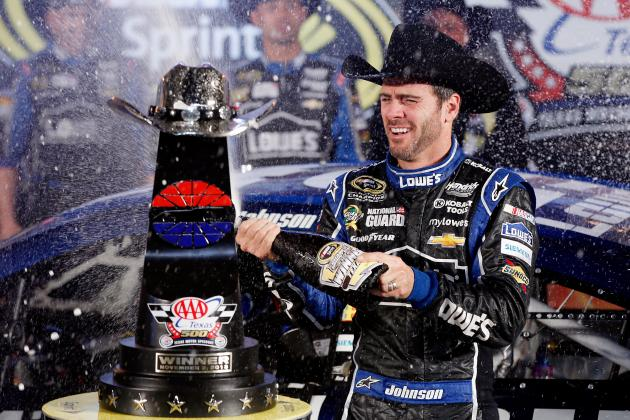 Dominant Jimmie Johnson in True Championship Form with 6th Sprint Cup in Reach