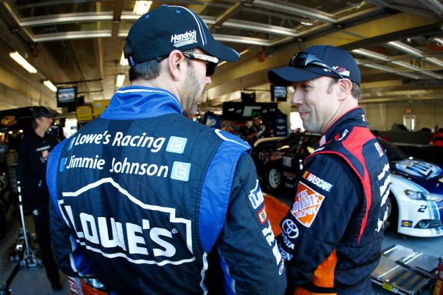 Jimmie Johnson: Chase Title Will Come Down to 'Last Lap at Homestead'