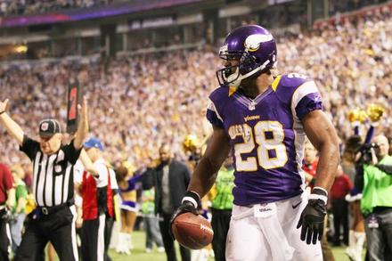 Adrian Peterson: Week 10 Fantasy Outlook