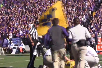 Video: K-State Pregame Ritual Leads to Student Having a Seizure on the Field