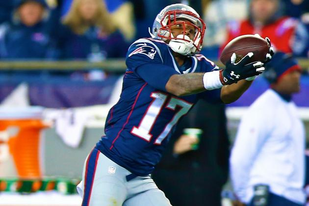 Aaron Dobson's Updated Fantasy Value After Week 9