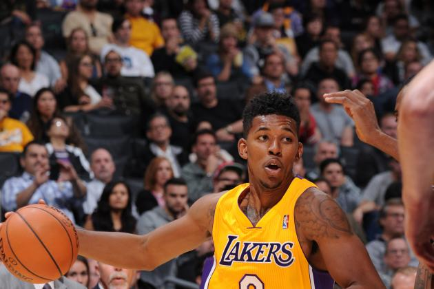 Nick Young Takes Bench Role in Stride