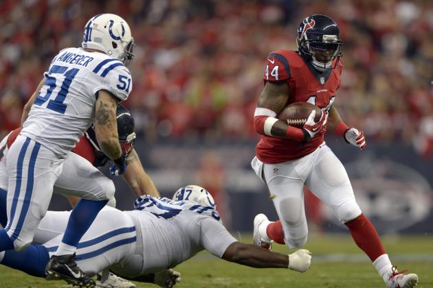 Ben Tate's Instant Fantasy Value After Arian Foster's Injury
