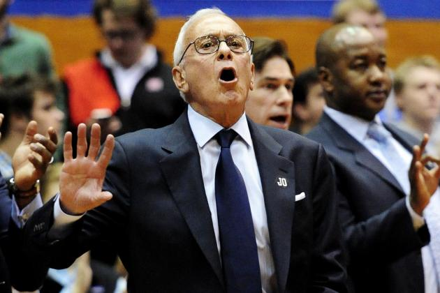 Larry Brown Still Going Strong at 73