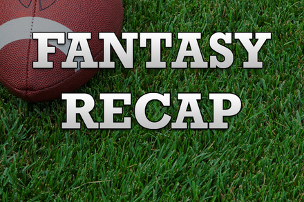 Mike James: Recapping James's Week 10 Fantasy Performance