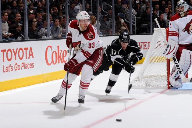Coyotes Recall Gormley, Send Down Kennedy