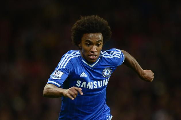 Chelsea FC: It's Time for Jose Mourinho to Give Willian a Starting Place