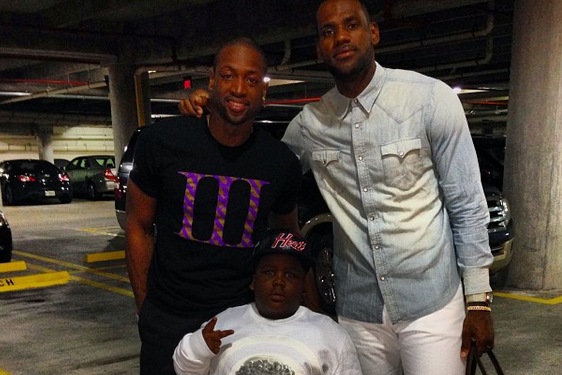 Internet Sensation TerRio Gets Front-Row Seats at Miami Heat Game