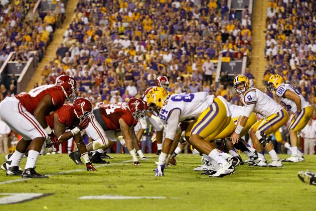 LSU vs. Alabama Film Study: How Both Teams Run the Same Effective Pass Play