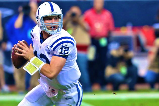 Andrew Luck's Killer Instinct Has Indianapolis Colts Atop AFC South for Good