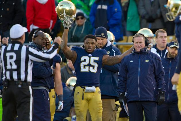 Getting to Know Tarean Folston, Notre Dame's Stud Freshman Running Back