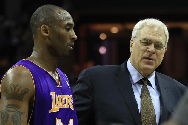 Phil Jackson: Kobe Bryant Like 'A Son' to Him