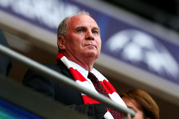 Bayern Munich President Uli Hoeness to Go on Trial for Tax Evasion