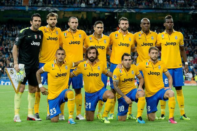 How Juventus Will Line Up Against Real Madrid