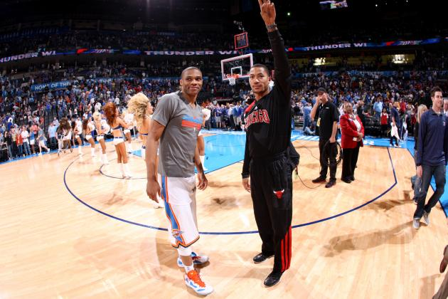 Russell Westbrook vs. Derrick Rose: Who Will Find Peak Form First Post-Injury?