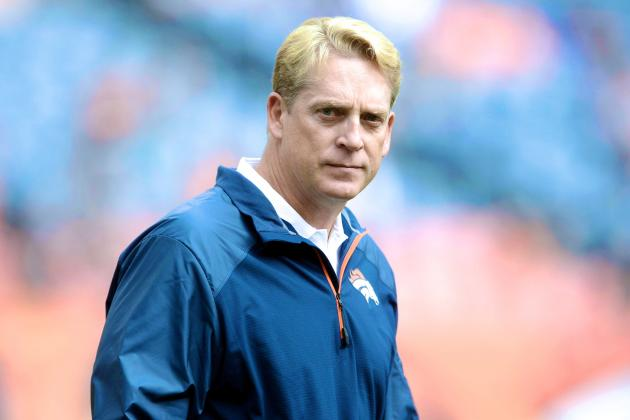 Jack Del Rio Named Denver Broncos Interim Head Coach in John Fox's Absence