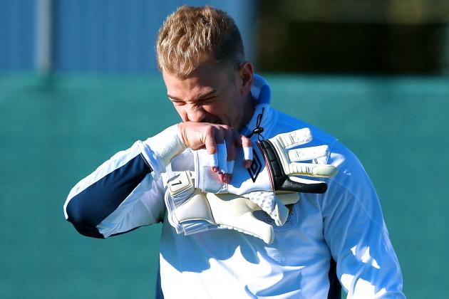 Joe Hart Set to Be Dropped Again for Manchester City vs. CSKA Moscow