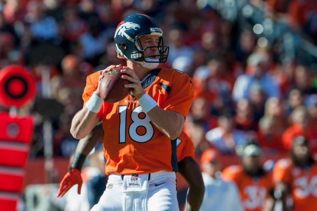 2013 Fantasy Football Quarterback Rankings: NFL Week 10