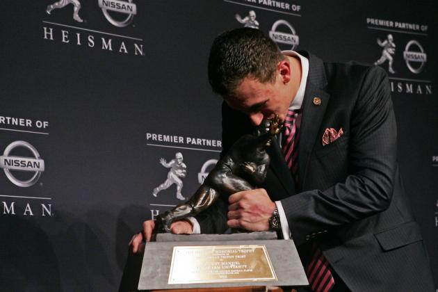 Texas A&M Claims It Only Made $20,000 from Johnny Manziel's Heisman