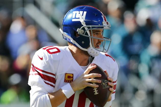 Is Eli Manning Finding Groove with Shorter Drops and Attempts?