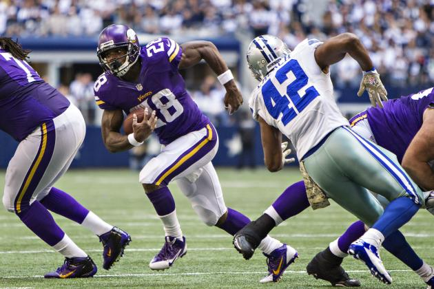 2013 Fantasy Football Running Back Rankings: NFL Week 10