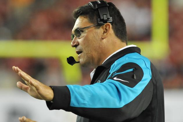 'Riverboat' Ron Rivera, Carolina Panthers vivify NFC South race